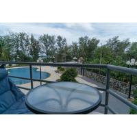 The Royal Rayong Condo for rent Mae Rumphung beach Ban Phe -- lovely second floor pool one bedroom with spacious balcony