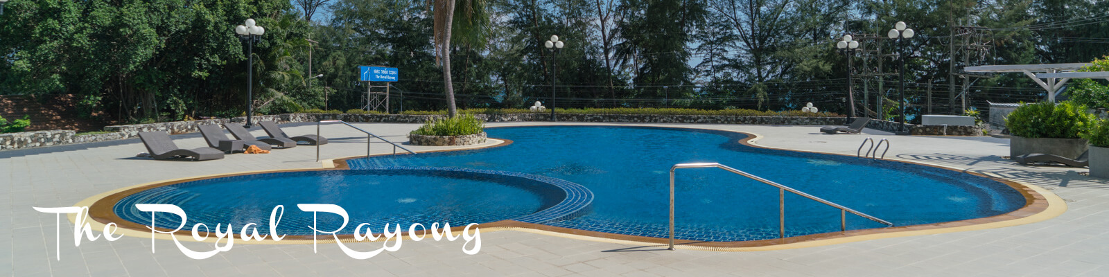 The Royal Rayong Condo has a large and well-maintained pool