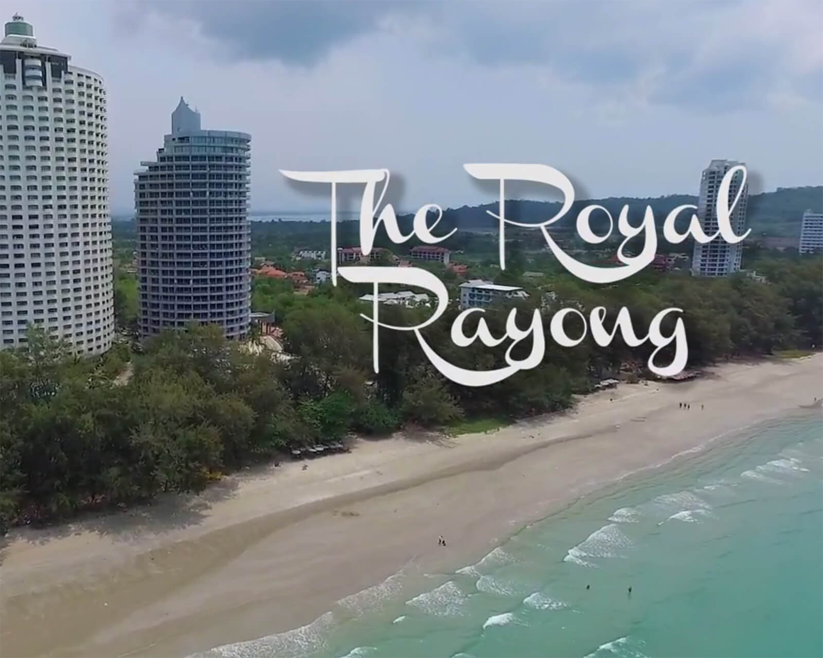 The Royal Rayong Condo offers some of the best views of Mae Rumphueng Beach because of its height.