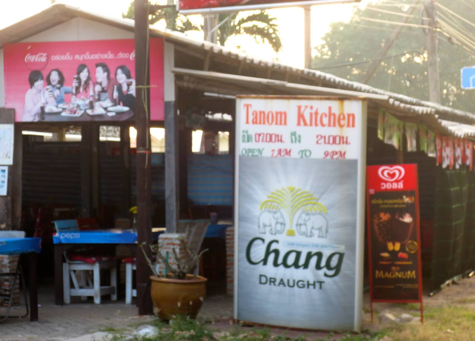 Thanom Kitchen in Mae Rumphueng, Thailand