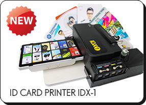 เครื่องพิมพ์บัตรพลาสติก-IDX-1