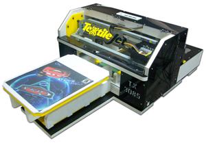 เครื่องพิมพ์เสื้อยืด, เครื่องพิมพ์ภาพโดยตรงลงเสื้อ, เครื่องสกรีนเสื้อ
