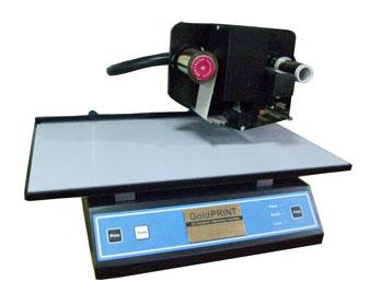 พิมพ์ปกวิทยานิพนธ์, พิมพ์ทอง, พิมพ์อักษรสีทอง, เครื่องพิมพ์