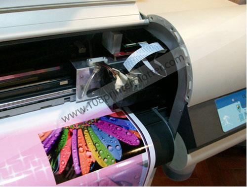 พิมพ์ภาพขนาดใหญ่, เครื่องพิมพ์อินดอร์