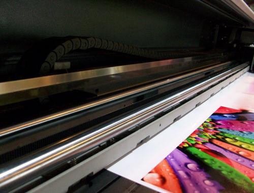 เครืี่องพิมพ์หน้ากว้าง, indoor printer