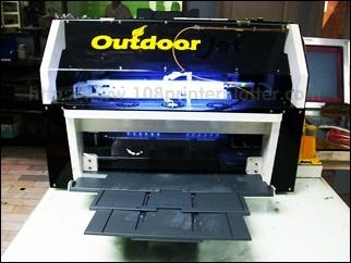 solvent printer,a4 solvent printer, canvas printing,canvas prints,  ปริ้นสติ๊กเกอร์ขาวด้าน, ปริ้นสติ๊กเกอร์ขาวมัน, ปริ้นสติ๊กเกอร์ขาวขุ่น, White sticker, warranty void if damaged label