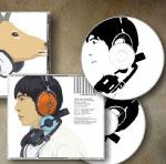 พิมพ์กล่องแผ่น cd แผ่น cd