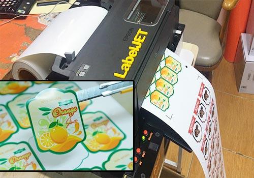เครื่องพิมพ์ฉลากสินค้า-Sticker-Printer