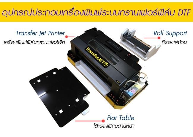 รายละเอียดเครื่องพิมพ์-DFT