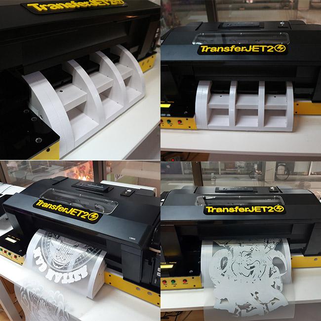 เครื่องพิมพ์ทรานเฟอร์ dft