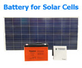 Battery for Solar Cells