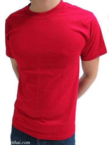 เสื้อยืดสีแดง