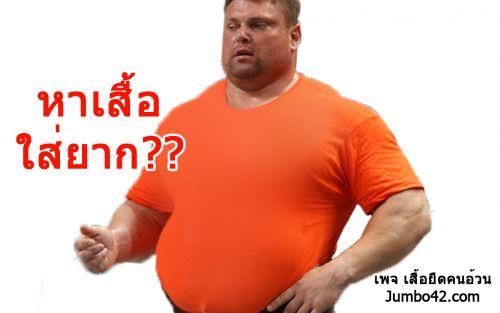 เสื้อคนอ้วน , เสื้อคนอวบ , plus size tshirt , เสื้อตัวใหญ่ , เสื้อยืดตัวยักษ์