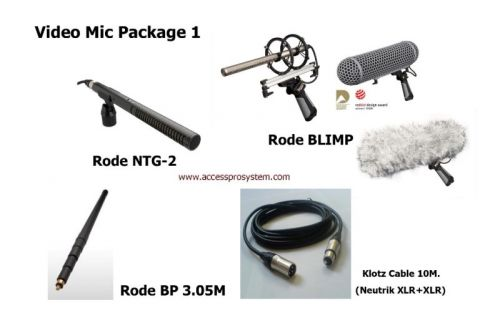 Video Mic Package