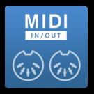 MIDI input&output