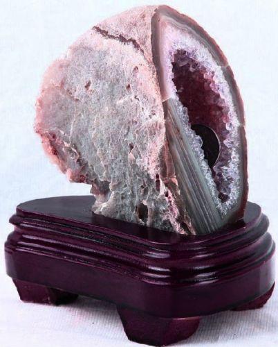 เครื่องประดับ แหวน ค็อกเทล หิน โพรง ผลึก อาเกตแท้ แก่น อาเกต ดิบ บริสุทธิ์ ธรรมชาติ Mineral Rough Geode Druzy Agate Healing Stones ทอง บำบัด เสริม ดวง ปรับ ฮวงจุ้ย ซื้อ ขาย ราคา ถูก