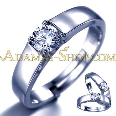 เครื่องประดับ แหวน คู่ รัก เพชร เพชรสวิส CZ Cubic Zirconia รัสเซีย สังเคราะห์ โคลนนิ่ง ของขวัญ วัน แต่งงาน วาเลนไทน์ แห่ง ความรัก เกิด ครบรอบ หมั้น ซื้อ ขาย ราคา ถูก