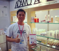 ADAMO Shop in Thailand Health & Beauty 2011 at BITEC Bangna
