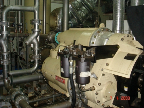 CENTAC - 3 Stages Turbo 800 HP, Centrifugal Air Compressor, Ingersol Rand