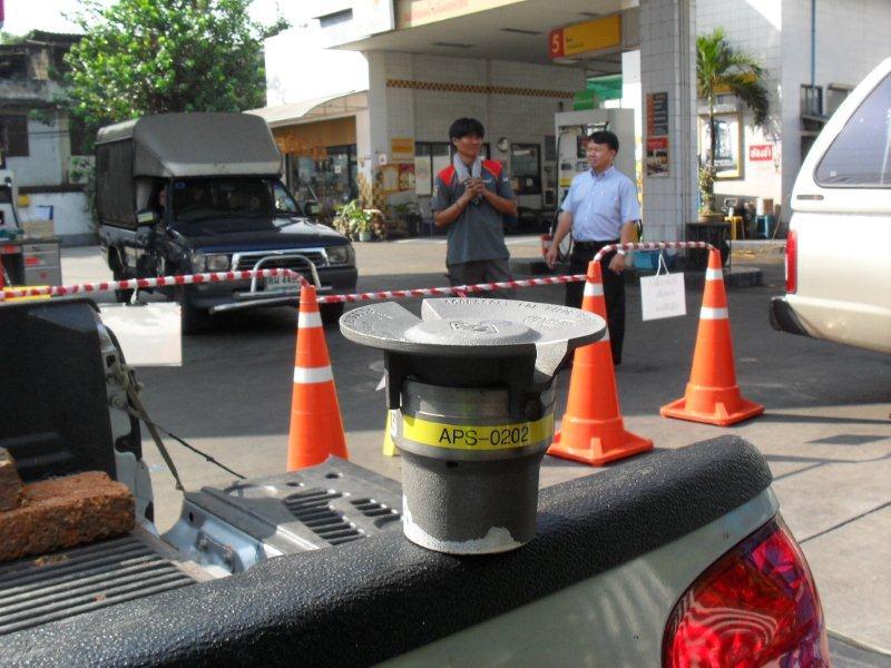 ทดสอบ Pressure Vacuum Vent Valve ในสถานีบริการน้ำมันเชลล์