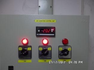 ระบบควบคุมการทำงานและสลับการทำงานของเครื่องปรับอากาศ