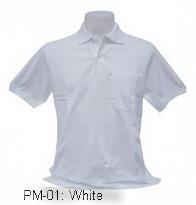 เสื้อโปโล,เสื้อโปโลสีขาว,Polo Shirt_white,เสื้อโปโลผู้ชาย,เสื้อโปโลสำเร็จรูป,เสื้อโปโลเนื้อผ้าค็อตต้อน,เสื้อยืดพนังาน,เสื้อโปโลบริษัท,เสื้อโปโลยูนิฟอร์ม,เสื้อโปโลปักโลโก้,เสื้อโปโลพรีเมี่ยม