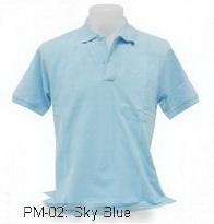 เสื้อโปโล,เสื้อโปโลสีฟ้า,Polo Shirt_sky blue,เสื้อโปโลสำเร็จรูป,เสื้อโปโลผู้ชาย,เสื้อโปโลเนื้อผ้าค็อตต้อน,เสื้อยืดพนังาน,เสื้อโปโลบริษัท,เสื้อโปโลยูนิฟอร์ม,เสื้อโปโลปักโลโก้,เสื้อโปโลพรีเมี่ยม