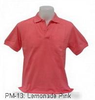 เสื้อโปโล,เสื้อโปโลสีโอรส,Polo Shirt_lemonade pink,เสื้อโปโลสำเร็จรูป,เสื้อโปโลผู้ชาย,เสื้อโปโลเนื้อผ้าค็อตต้อน,เสื้อยืดพนังาน,เสื้อโปโลบริษัท,เสื้อโปโลยูนิฟอร์ม,เสื้อโปโลปักโลโก้,เสื้อโปโลพรีเมี่ยม