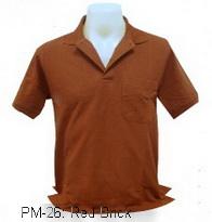 เสื้อโปโล,เสื้อโปโลสีแดงอิฐ,Polo Shirt_red brick,เสื้อโปโลสำเร็จรูป,เสื้อโปโลผู้ชาย,เสื้อโปโลเนื้อผ้าค็อตต้อน,เสื้อยืดพนังาน,เสื้อโปโลบริษัท,เสื้อโปโลยูนิฟอร์ม,เสื้อโปโลปักโลโก้,เสื้อโปโลพรีเมี่ยม