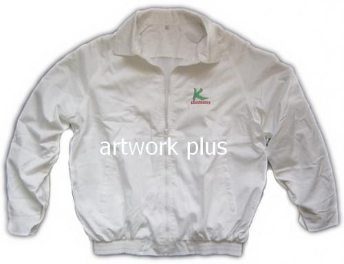 แจ็คเก็ต,เสื้อJacket,Jacket ชาย,แจ็คเก็ตพนักงาน,แจ๊คเก็ตสีขาว,แจ๊คเก็ตเอวจั๊มยางยืด,แจ็กเก็ต_กสิกรไทย