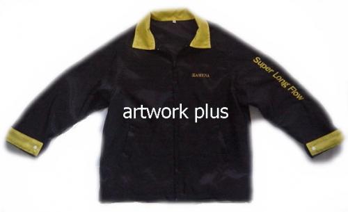 แจ็คเก็ต,เสื้อJacket,Jacket ชาย,แจ็คเก็ตพนักงาน,แจ๊คเก็ตสีดำ,แจ๊คเก็ตปกสีเหลือง,แจ็กเก็ต_AMINA
