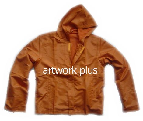 แจ็คเก็ต,เสื้อJacket,Jacket ชาย,แจ็คเก็ตพนักงาน,แจ๊คเก็ตสีส้ม,แจ๊คเก็ตผ้าร่ม