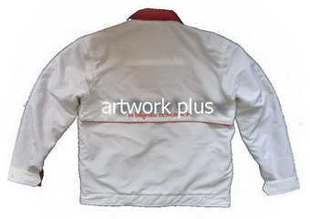 แจ็คเก็ตบริษัท,แจ๊คเก็ตยูนิฟอร์ม,แจ๊คเก็ตกันหนาว,แจ๊กเก็ตกันลม,เสื้อJacket,Jacket ชาย,แจ็คเก็ตใส่สองด้าน,แจ๊คเก็ตสีขาวด้านในสีแดง,แจ๊คเก็ตทำงาน,แจ็กเก็ตปักโลโก้