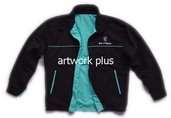 แจ็คเก็ตบริษัท,เสื้อJacket,Jacket ชาย,แจ็คเก็ตใส่สองด้าน,แจ๊คเก็ตสีดำด้านในสีฟ้า,แจ๊คเก็ตทำงาน,แจ็กเก็ต_แบงค์ชาติ