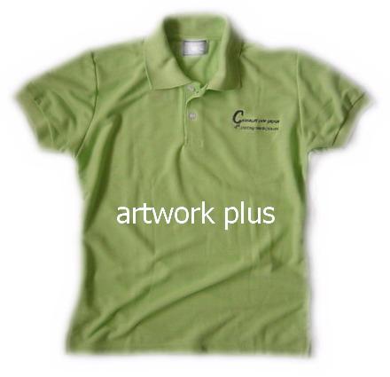 เสื้อโปโล,เสื้อโปโลสีเขียวอ่อน,เสื้อโปโลปักโลโก้,เสื้อโปโลบริษัท,เสื้อยืดทำงาน,เสื้อโปโลพนักงาน,เสื้อโปโลผู้ชาย,Polo Shirt,T-Shirt