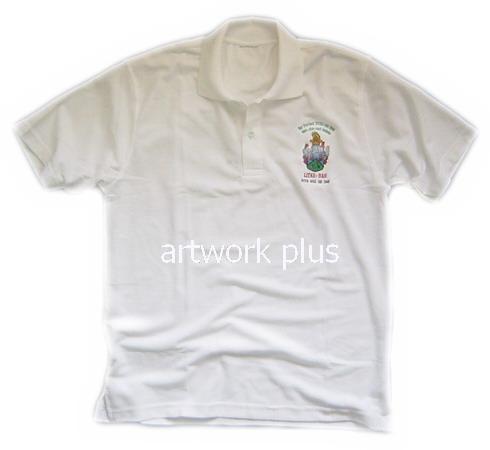 เสื้อโปโล,เสื้อโปโลสีขาว,เสื้อโปโลปักโลโก้,เสื้อโปโลบริษัท,เสื้อยืดทำงาน,เสื้อโปโลพนักงาน,เสื้อโปโลผู้ชาย,Polo Shirt,T-Shirt