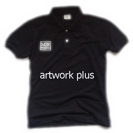 เสื้อโปโล,เสื้อโปโลสีดำ,เสื้อโปโลปักโลโก้,เสื้อโปโลบริษัท,เสื้อยืดทำงาน,เสื้อโปโลพนักงาน,เสื้อโปโลผู้ชาย,Polo Shirt,T-Shirt