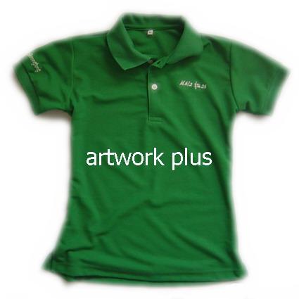 เสื้อโปโล,เสื้อโปโลสีเขียว,เสื้อโปโลปักโลโก้,เสื้อโปโลบริษัท,เสื้อยืดทำงาน,เสื้อโปโลพนักงาน,เสื้อโปโลผู้หญิง,Polo Shirt,T-Shirt