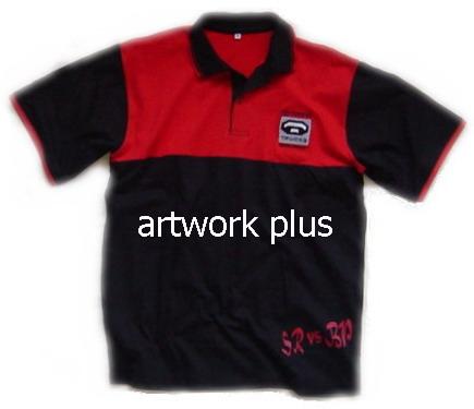 เสื้อโปโล,เสื้อโปโลกีฬา,เสื้อยืดพนักงาน,เสื้อโปโลพนักงาน,เสื้อโปโลผู้ชาย,เสื้อโปโลสีดำต่อแดง,เสื้อฟอร์มโปโล,Polo Shirt,T-Shirt,TOYOTA
