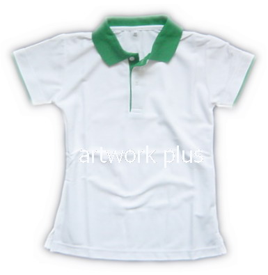 เสื้อโปโล,เสื้อโปโลกีฬา,เสื้อยืดพนักงาน,เสื้อโปโลพนักงาน,เสื้อโปโลผู้หญิง,เสื้อโปโลสีขาวปกเขียว,เสื้อฟอร์มโปโล,Polo Shirt,T-Shirt