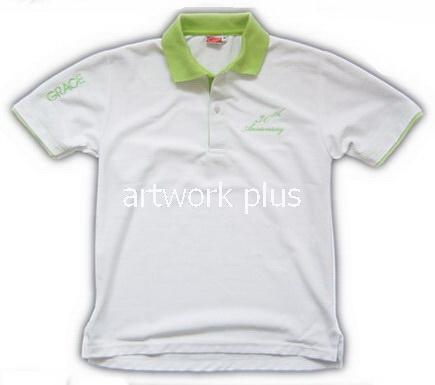 เสื้อโปโล,แบบเสื้อโปโลบริษัท,เสื้อยืดพนักงาน,เสื้อโปโลพนักงาน,เสื้อโปโลผู้ชาย,เสื้อโปโลสีขาวปกเขียว,เสื้อฟอร์มโปโล,เสื้อโปโลทำงาน,เสื้อโปโลปักโลโก้,Polo Shirt,T-Shirt