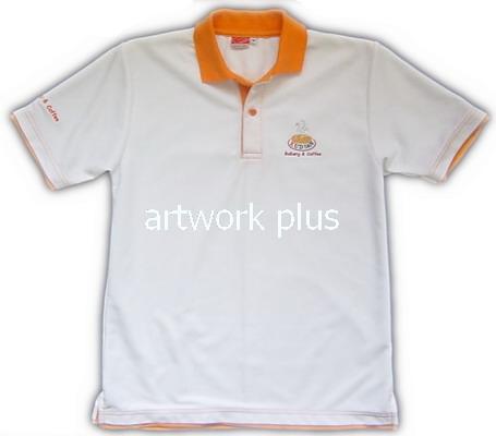 เสื้อโปโล,เสื้อโปโลกีฬา,เสื้อยืดพนักงาน,เสื้อโปโลพนักงาน,เสื้อโปโลผู้ชาย,เสื้อโปโลสีขาวปกส้ม,เสื้อฟอร์มโปโล,Polo Shirt,T-Shirt,KUDSAN
