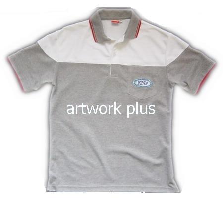 เสื้อโปโล,เสื้อโปโลกีฬา,เสื้อยืดพนักงาน,เสื้อโปโลพนักงาน,เสื้อโปโลผู้หญิง,เสื้อโปโลสีเทาต่อขาว,เสื้อฟอร์มโปโล,Polo Shirt,T-Shirt
