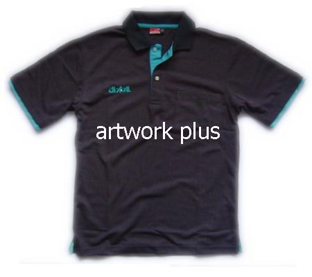เสื้อโปโล,แบบเสื้อโปโลบริษัท,เสื้อยืดพนักงาน,เสื้อโปโลพนักงาน,เสื้อโปโลผู้ชาย,เสื้อโปโลสีเทาเข้มสาปซ้อนฟ้า,เสื้อฟอร์มโปโล,Polo Shirt,T-Shirt