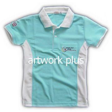 เสื้อโปโลกีฬาสี,แบบเสื้อโปโลบริษัท,เสื้อยืดพนักงาน,เสื้อโปโลพนักงาน,เสื้อโปโลผู้หญิง,เสื้อโปโลสีฟ้าต่อขาว,เสื้อฟอร์มโปโล,เสื้อโปโลทำงาน,เสื้อโปโลปักโลโก้,Polo Shirt,T-Shirt
