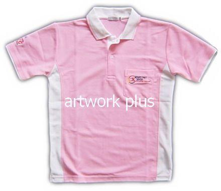เสื้อโปโลกีฬาสี,แบบเสื้อโปโลบริษัท,เสื้อยืดพนักงาน,เสื้อโปโลพนักงาน,เสื้อโปโลผู้ชาย,เสื้อโปโลสีชมพูต่อขาว,เสื้อฟอร์มโปโล,เสื้อโปโลทำงาน,เสื้อโปโลปักโลโก้,Polo Shirt,T-Shirt