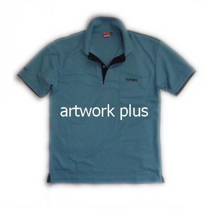 เสื้อโปโล,เสื้อโปโลผู้ชาย,เสื้อโปโลบริษัท,เสื้อยืดทำงาน,เสื้อโปโลพนักงาน,เสื้อโปโลสีฟ้า,Polo Shirt,T-Shirt