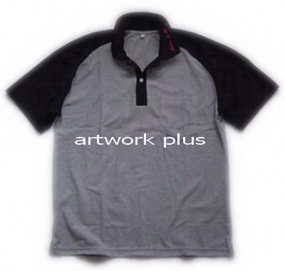 เสื้อโปโล,เสื้อโปโลสีเทาแขนดำ,เสื้อโปโลบริษัท,เสื้อยืดทำงาน,เสื้อโปโลพนักงาน,เสื้อโปโลผู้ชาย,Polo Shirt,T-Shirt