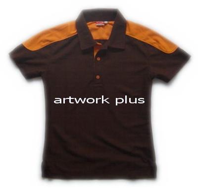 เสื้อโปโล,เสื้อโปโลผู้หญิง,เสื้อโปโลบริษัท,เสื้อยืดทำงาน,เสื้อโปโลพนักงาน,เสื้อโปโลสีน้ำตาล,Polo Shirt,T-Shirt
