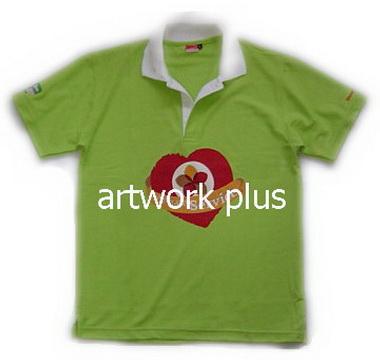 เสื้อโปโล,เสื้อโปโลสีเขียวปกขาว,เสื้อโปโลบริษัท,เสื้อยืดทำงาน,เสื้อโปโลพนักงาน,เสื้อโปโลผู้ชาย,Polo Shirt,T-Shirt